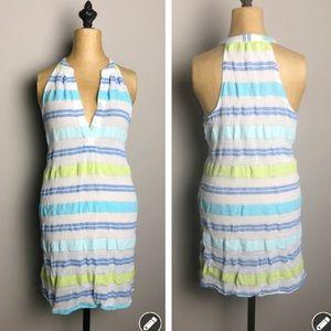 Vineyard Vines striped mini dress / coverup